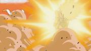 Piccolo blasts Raditz 2