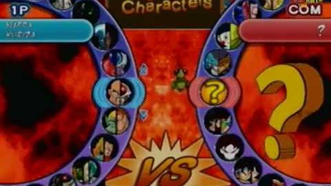 Dragon Ball Budokai AF All Characters In Select Screen