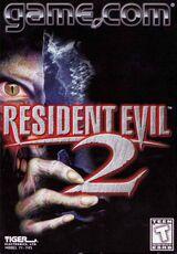 Resident evil 2 game.com box