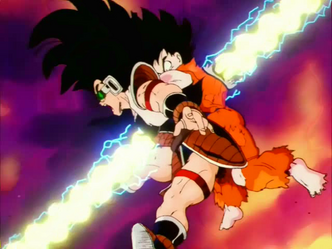 Goku vs Raditz (original)