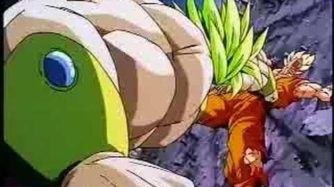 Broly Vs. Goku