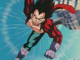 Super Saiyan 4 Goku vs Super Saiyan 4 Vegeta