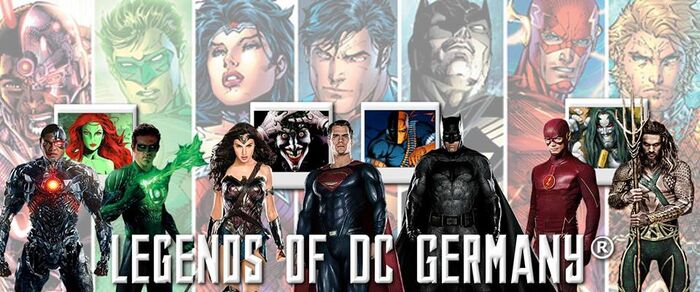 Legends of DC Germany