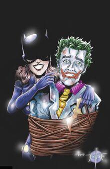 Batgirl & Joker