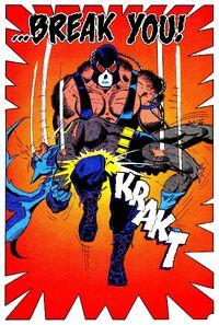 Bane brise le dos de Batman