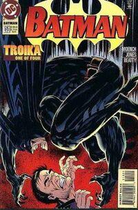 Couverture du N°#1 de la saga Troika