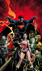 Justice League Vol 2 001CoverFinchRedSansTxt