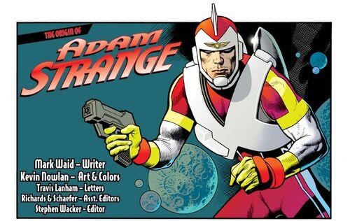 Origines d'Adam Strange