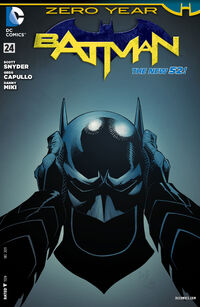 Couverture du Premier Numéro de la saga Batman : Zero Year - Dark City