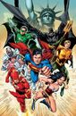 Justice League V2 001 Cover5ReisSansTxt