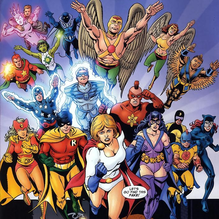 Icône Justice Society Infinity