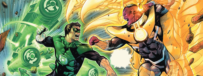 Green Lantern Cover (TP)