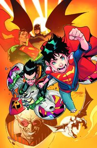 Super Sons Vol 1 1 Sans Texte