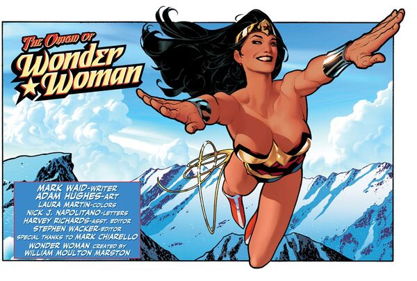 Origin of Wonder Woman