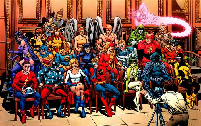 Justice society infinity