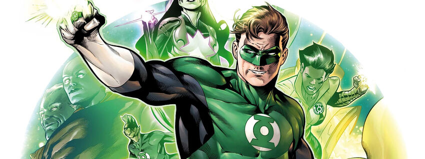 Green Lantern Cover (NT)