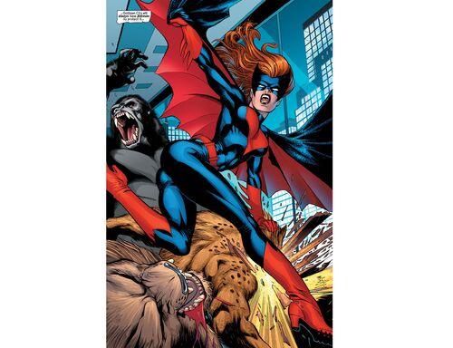 Entrée de Batwoman