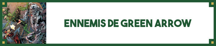 Ennemis de Green Arrow