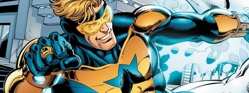 Booster Gold Cover