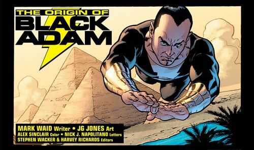 Origines de Black Adam