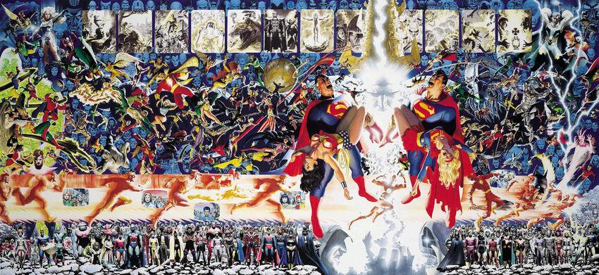 Crisis on Infinite Earths - Panel