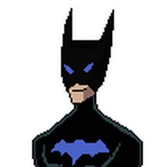 Pose oficial de Bat Boy con su segundo traje de la primera temporada.