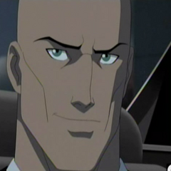 Lex Luthor en la primera temporada.