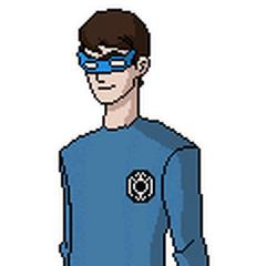 Anton como un Linterna Azul.