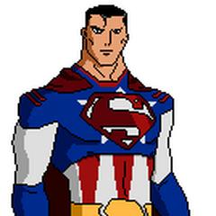 Pose oficial del Capitán Kriptón con su traje de la primera temporada.