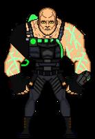 Bane - Arkham Origins (2013) by Stuart1001 from Deviantart