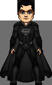 Superman 2 Black suit