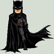 Batman Micro Jim Lee Inspired by darknight7
