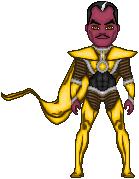 Sinestro Parallax
