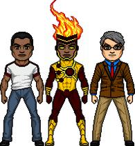 Firestorm (Jason Rusch and Martin Stein)