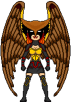 Justice League from Young Justice hawkwoman (1)