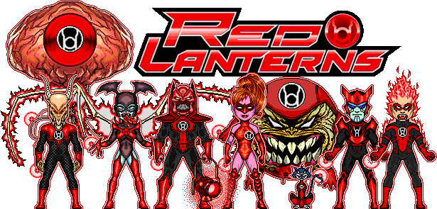 Categoryred Lantern Corps Dc Microheroes Wiki Fandom Powered By