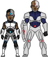 Cyborg justice league flashpoint paradox by beetleblood-d6j42gz
