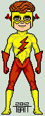 Micro classic kid flash by everydaybattman-d4sqb60