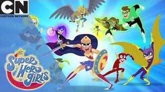 DC Super Hero Girls Team Work Cartoon Network UK 🇬🇧