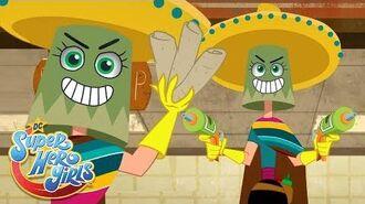 The Burrito Bucketeer DC Super Hero Girls Animated Series