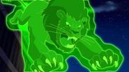 Lion projection