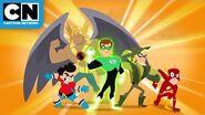 Meet the Invinci-Bros! DC Super Hero Girls Cartoon Network