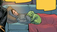Beast Boy snuggles with Raven 2