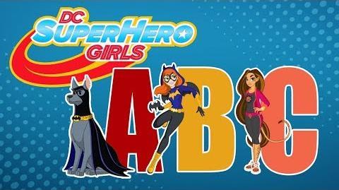 ABCs of DCSHG! Reading Month DC Super Hero Girls