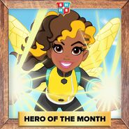 Hero of the Month Bumblebee