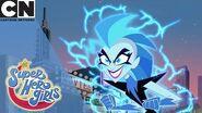 DC Super Hero Girls Livewire's Mean Streak Cartoon Network UK 🇬🇧