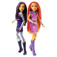 Doll stockography- Intergalactic Sisters Blackfire and Starfire 2