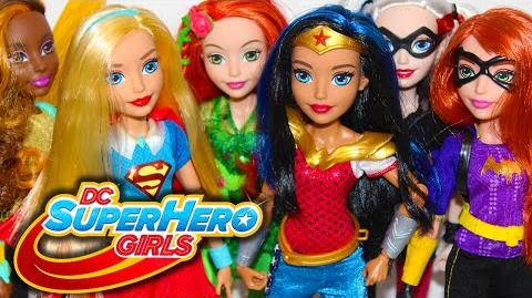 DC SUPER HERO GIRLS DOLLS Collection Review Video!!