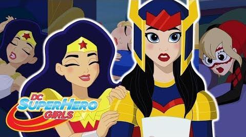 A New Student! Hero of the Year DC Super Hero Girls