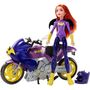 Doll stockography- Motorcycle Batgirl 2